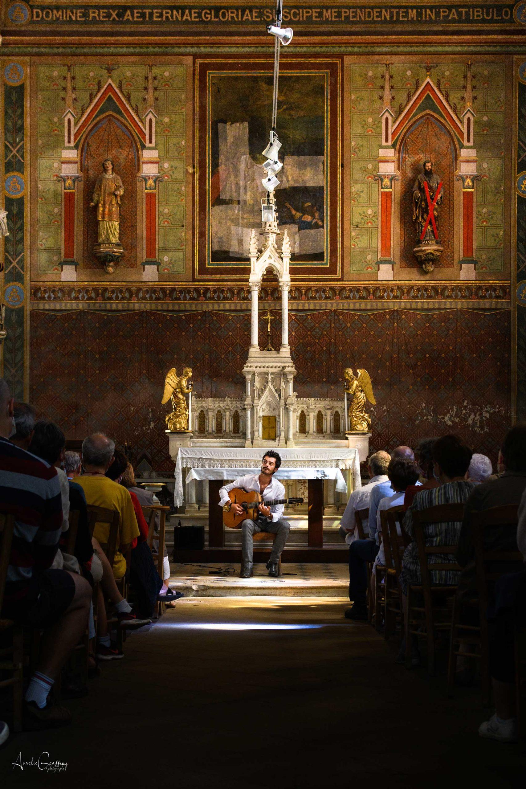 église concert